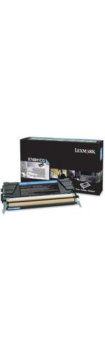 Lexmark Cyan X748H1CG Toner Cartridge
