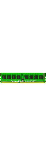 Kingston ValueRAM RAM Module - 8 GB 1 x 8 GB - DDR3 SDRAM - 1600 MHz DDR3-1600/PC3-12800 - 1.50 V - ECC - Unbuffered - CL11 - 240-pin - DIMM