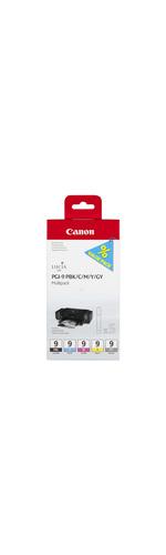 Canon LUCIA PGI-9 Ink Cartridge - Photo Black, Cyan, Magenta, Yellow, Grey