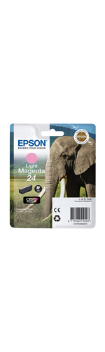 Epson Claria 24 Light Magenta Ink Cartridge - C13T24264010
