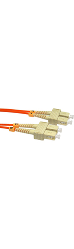 Cables Direct 15 m Fibre Optic Cable SC-SC OM2 15m