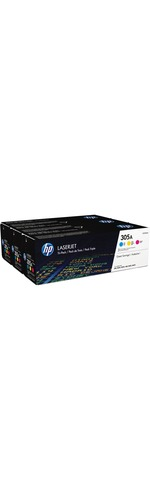 HP 305A CYM Toner Cartridge - Cyan, Magenta, Yellow - Laser - 2600 Page - 1 Each - OEM