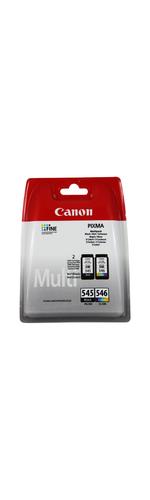 Canon PG-545/CL-546 Ink Cartridge - Black, Colour