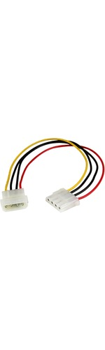 StarTech.com 12in Molex LP4 Power Extension Cable - M/F - For Hard Drive