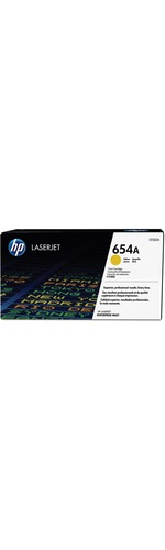 HP 654A Toner Cartridge - Yellow