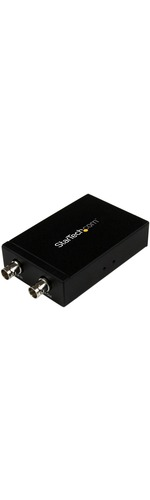 StarTech.com SDI to HDMI Converter - 3G SDI to HDMI Adapter with SDI Loop Through Output - Functions: Video Conversion - 1920 x 1200HDMI - Component Video1 Pack