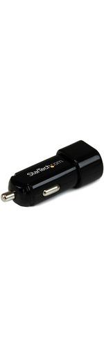 StarTech.com Dual Port USB Car Charger - High Power 17 Watt / 3.4 Amp - 17 W Output Power