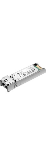 TP-Link TXM431-LR SFPplus - 1 LC/UPC 10GBase-LR Network - For Data Networking, Optical Network - 9/125 Andamp;micro;m - Single-mode - 10 Gigabit Ethernet - 10GBase-LR - Hot-p