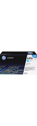 HP 645A Toner Cartridge - Cyan - Laser - 12000 Page - 1 Pack