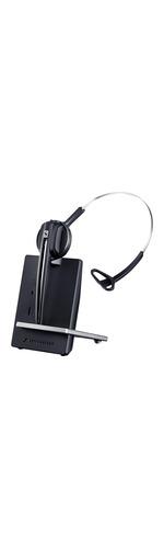 Sennheiser D 10 Phone Wireless DECT 50 mm Mono Headset - Over-the-head - Circumaural - 180 m - 150 Hz - 6.80 kHz - Yes