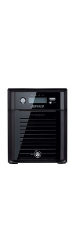 Buffalo TeraStation TS5400DWR0804 4 x Total Bays NAS Server - Desktop - Intel Atom D2550 Dual-core 2 Core 1.86 GHz - 8 TB HDD 4 x 2 TB - 2 GB RAM DDR3 SDRAM - Se