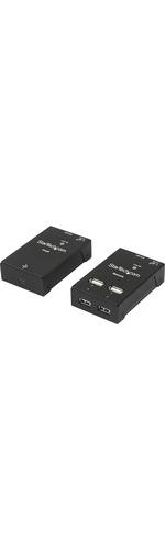 StarTech.com 4-Port USB 2.0-Over-Cat5-or-Cat6 Extender - up to 165ft 50m
