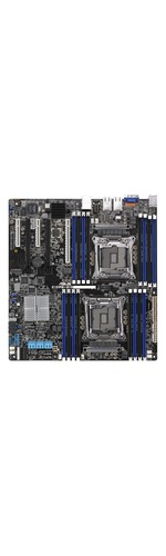 Asus Z10PE-D16/10G-2T Server Motherboard - Intel C612 Chipset - Socket LGA 2011-v3 - SSI EEB - 2 x Processor Support - 1 TB DDR4 SDRAM Maximum RAM - 2.13 GHz Memory