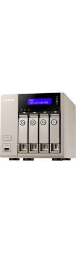 QNAP Turbo vNAS TVS-463 4 x Total Bays NAS Server - Tower - AMD Quad-core 4 Core 2.40 GHz