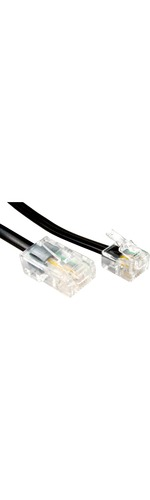 Cables Direct RJ-11/RJ-45 Network Cable for Modem, Router - 1 m
