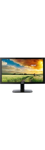 Acer KA270H 68.6 cm 27And#34; Full HD LED LCD Monitor - 16:9 - Black - Vertical Alignment VA - 1920 x 1080 - 16.7 Million Colours - 300 cd/mAndamp;#178; - 4 ms GTG - 60 Hz