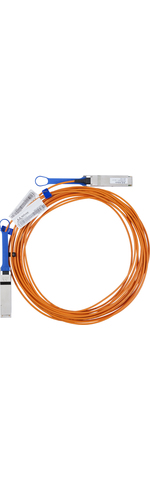 Mellanox Fibre Optic Network Cable for Network Device - 5 m - 1 x QSFP Male Network - 1 x QSFP Male Network