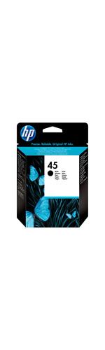 HP No. 45 Ink Cartridge - Black