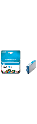HP No. 364 Ink Cartridge - Cyan