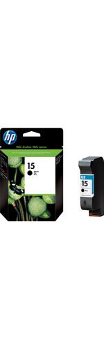 HP No. 15 Ink Cartridge - Black