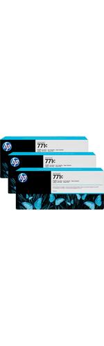 HP 771C Photo Black Ink Cartridge x3 Pack