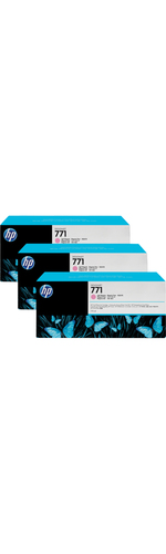HP 771C Ink Cartridge 3 Pack - Light Magenta