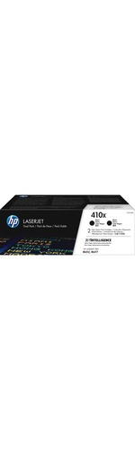 HP 410X Original Toner Cartridge - Black - Laser - High Yield - 6500 Pages Per Cartridge - 2 / Pack