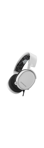 SteelSeries Arctis Wired 40 mm Stereo Headset - Over-the-head - Circumaural - White