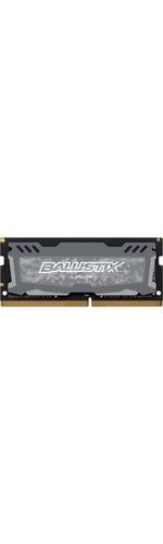 Crucial Ballistix Sport LT RAM Module - 4 GB - DDR4 SDRAM - 2666 MHz DDR4-2666/PC4-21300 - 1.20 V - Non-ECC - Unbuffered - CL16 - 260-pin - SoDIMM