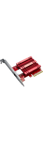 Asus XG-C100C 10 Gigabit Ethernet Card for Computer - PCI Express - 1 Ports - 1 - Twisted Pair
