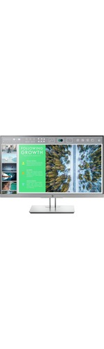 HP Business E243 60.5 cm 23.8And#34; Full HD WLED LCD Monitor - 16:9 - Black/Silver - 1920 x 1080 - 250 cd/mAndamp;#178; - 5 ms - HDMI - VGA - DisplayPort