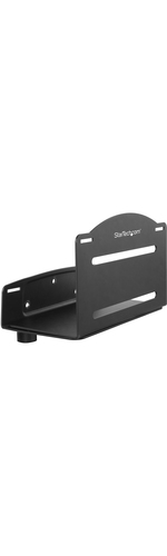 StarTech.com CPU Mount - Adjustable Computer Wall Mount - PC Wall Mount - CPU Wall Mount - Adjustable Width 4.8 to 8.3in - Heavy-duty Metal - 10.02 kg Load Capacity