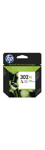 HP 302XL Original Ink Cartridge - Tri-colour