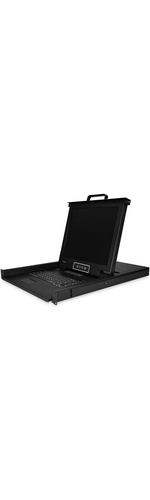StarTech.com Rackmount KVM Console - 16 Port with 17-inch LCD Monitor - VGA KVM - Cables and Mounting Hardware Included - Connect up to 16 PCs or servers to this rac