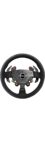 Thrustmaster Rally Wheel Add-On Sparco® R383 Mod Steering wheel PC, PlayStation 4, Xbox One Carbon