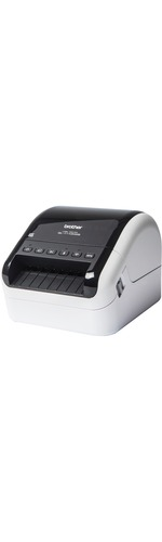 Brother QL-1110NWB Direct Thermal Printer - Monochrome - Desktop - Label Print - 3 m Print Length - 101.60 mm 4And#34; Print Width - 110 mm/s Mono - 300 x 300 dpi - 6 MB
