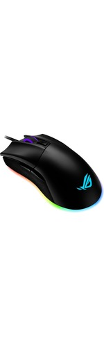 Asus ROG Gladius II Origin Gaming Mouse - USB 2.0 - Optical - Black
