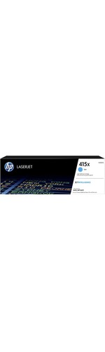HP 415X Toner Cartridge - Cyan - Laser - High Yield - 6000 Pages - 1 Piece
