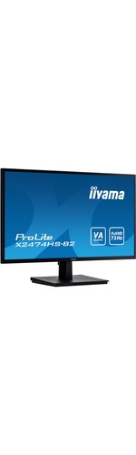 iiyama ProLite X2474HS-B2 23.6And#34; Full HD LED LCD Monitor - 16:9 - Matte Black