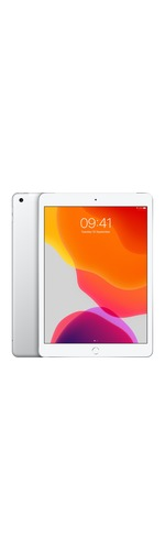 Apple iPad 7th Generation Tablet - 25.9 cm 10.2And#34; - 128 GB Storage - iPad OS - 4G - Silver - Apple A10 Fusion SoC - 1.2 Megapixel Front Camera - 8 Megapixel Rear