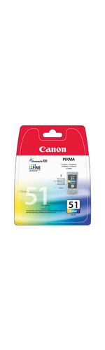 Canon CL-51 Ink Cartridge - Cyan, Magenta, Yellow
