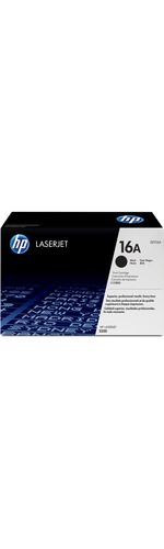HP 16A Toner Cartridge - Black - Laser - 12000 Page - 1 Each
