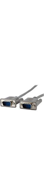 StarTech.com 6 ft Monitor VGA Cable - HD15 M/M - 1 x HD-15 Male - 1 x HD-15 Male - Grey