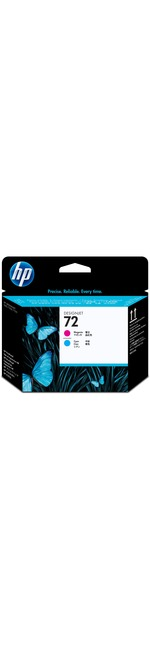 HP 72 Original Printhead - Magenta, Cyan - Inkjet - 1 Each