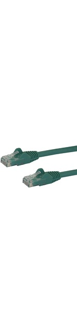 StarTech.com 75 ft Green Snagless Cat6 UTP Patch Cable - Category 6 - 75 ft - 1 x RJ-45 Male Network