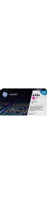 HP 646A Toner Cartridge - Magenta