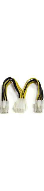 StarTech.com 6in PCI Express Power Splitter Cable - 6