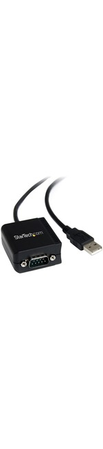 StarTech.com 1 Port FTDI USB to Serial RS232 Adapter Cable with Optical Isolation - Serial for Monitor