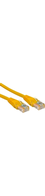 Cables Direct 1.50 m Category 5e Network Cable Yellow
