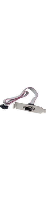StarTech.com 1 Port 16in DB9 Serial Port Bracket to 10 Pin Header
